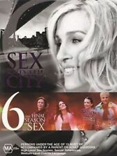 SEX AND THE CITY SEASON 6 BOXSET - R4 PAL DVD EXCELLENT CONDITION FREE POST