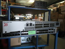 Brocade 300 P716G 8/24 SAN Fibre Channel Network Switch Fabric / 8GBps