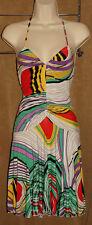 BUFFALO - David Bitton - Multi Color - Soft RAYON Summer Dress size M *NEW $88*