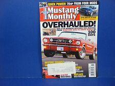Mustang Monthly,November 2009,Overhauled! 2010 Shelby GT500 Super Snake