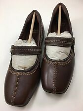 Womens Clarks Haydn Maize Brown Mary Jane Flats New Size 7 M