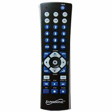 Supersonic Sc-26 Universal Remote Control - For Tv, Auxiliary, Vcr, Satellite