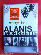 dvd dvds alanis morissette vh1 storytellers uninvited head over feet you learn f