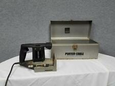 Porter Cable Biscuit Plate Joiner 555 w/ Metal Carrying Case Tool Box