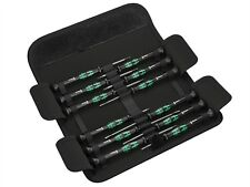 Wera Kraftform Micro Screwdriver Set 12: 5 Slot 2 PH 3 Hex 2 TX