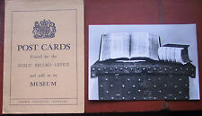 Domesday Book & Chest Public Record Office c/w original Sleeve