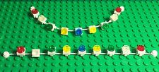 Lego New Christmas White Rope String Garland Multi Color Lights Play X2 Lighting