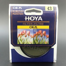HOYA 43mm CIR-PL CPL Ultra-thin Circular Polarizer Filter fit for Camera Lenses