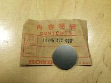 """Original Honda CB 750 ,CB 900 ,CB 1000 ,CB 1100 ,CBX """"Shim (340)"""" 14945-422-000"""
