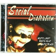 SOCIAL DISTORTION - WHITE LIGHT WHITE HEAT WHITE TRASH  CD 12 TRACKS METAL NEU