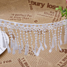 2 Yards Water Soluble Lace Edge Tassel Applique Trim Wedding Dress Sewing Crafts