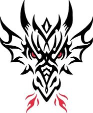 Tribal Dragon Auto Camper Van Truck ventana Stickers # 15