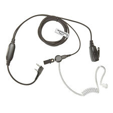 WOUXUN Radio 2 Pin Earpiece (Bodyguard 2 Wire Covert Acoustic Tube Headset)