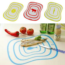 Multicolor Kitchen Cooking Cutting Vegetable Fruit Chopping Health Board Mat Kit