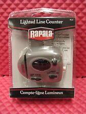 RAPALA LIGHTED FISHING LINE COUNTER #RLLC