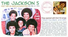 COVERSCAPE computer designed 45th anniversary of The Jackson 5 on TV event cover