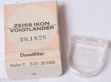 Zeiss Voigtlander EMPTY BOX FILTER CASE Only Ikolor C S27 20.1000 - VINTAGE Z013