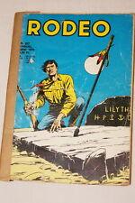 RODEO  N°227-1970- BD LUG