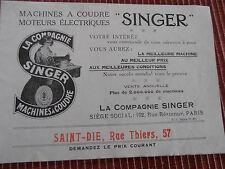 CATALOGUE ANCIEN MACHINE A COUDRE SINGER ( ref 44 )