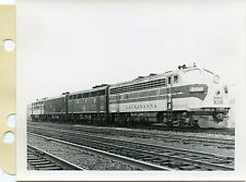 6C619 RP 1962 ERIE LACKAWANNA RR 4 UNIT LOCO 6571 7102 7062 6111 CAMBELL HALL NY