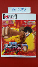 ARTBOOK INSIDE ONE PIECE BURNING BLOOD EDITION LIMITEE VERSION FRANCAISE NEUF