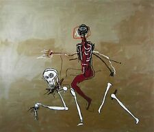 Riding with Death (1988), Giclée,  Jean-Michel Basquiat
