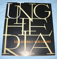 XXXI BIENNALE ARTE DI VENEZIA 1962 UNGHERIA KMETTY BERNATH MARTYN GADOR KURUCZ