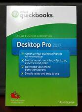 Brand New Sealed Intuit Quickbooks Desktop Pro 2017 1 User Licenses
