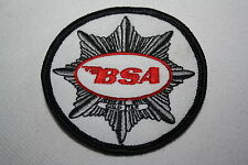 BSA MOTORCYCLE-MOTO ricamate patch Inghilterra