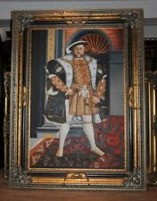 XL Oil Painting King Henry VIII 8th Eight English Monarch Tudor Royalty