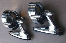Outside Halo Mirrors 1958 Chevrolet Impala Olds Buick Chrysler Ford Pontiac