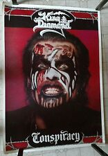 "KING DIAMOND Vintage Poster Conspiracy 34"" x 24"" Mercyful Fate Them heavy metal"