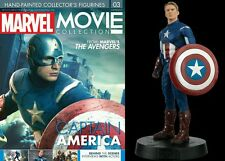 Figure Eroe Capitan America Marvel Seconda Uscita Movie Collection The Avengers