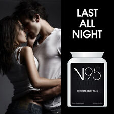 V95 ULTIMATE DELAY PILLS TABLET DELAY MEN'S ORGASM LAST LONGER HORNY HOT SEX