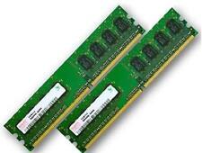 2x 1gb 2gb di RAM memoria PC 667 MHz ddr2 pc2-5300u 240 pin DIMM Memoria