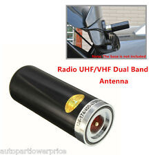 Black Aerial Dual Band 400-470Mhz&136-174MHZ Antenna Car Mobile Radio UHF/VHF