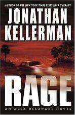 Alex Delaware: Rage No. 19 by Jonathan Kellerman (2005, Hardcover)