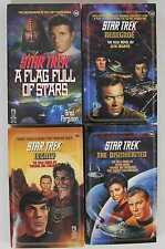 Star Trek 1991-1992 #54-#56 & #59 Paperback Lot of 4, 1st Editions