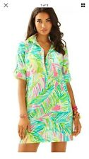 Lilly Pulitzer NWT  Sanibel Tunic Tropical Pink Tropical Storm Size XL