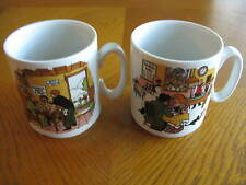2 Villeroy & Boch Septfontaines Coffe Mugs Luxembourg 1970's Taverns