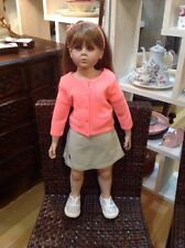 "1999 Large Heavenly Treasures 30"" Artist Doll Harleigh by Peggy Dey"