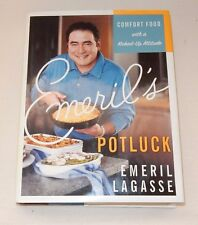 Emeril's Potluck Comfort Food with a Kicked-Up Attitude by Emeril Lagasse 1st ED
