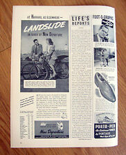 1941 New Departure Bicycle Ad at University of Harvard Vicky Wolfe E J Harris
