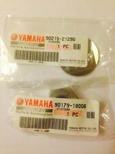 GENUINE YAMAHA FZS600 FAZER FRONT SPROCKET NUT AND WASHER KIT
