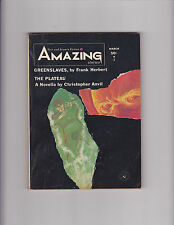 Amazing Stories Fact and Science Fiction March 1965 Pulp Frank Herbert