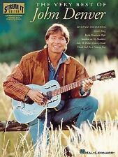 John Denver The Very Best Of Strum It Guitar 20 Songs! Book NEW! OUT OF PRINT