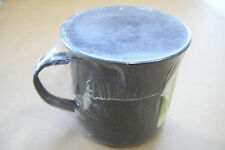 Vintage Test Rite International Enamel Mug Cup New and Shrink Wrapped In Plastic