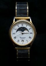 Vintage Valentino quarz mens Moonphase wrist watch