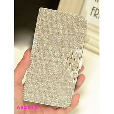 Luxury Bling Diamond Wallet Leather Case Cover For Samsung Galaxy Note 4 N9100