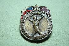 CSSR UDSSR Abzeichen - Sportabzeichen - Spartakiade - 1955